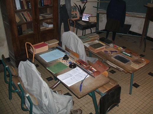 """l`ecole musée """"Hommes`Ages"""" 2008"""