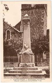 monument aux mort de louvie